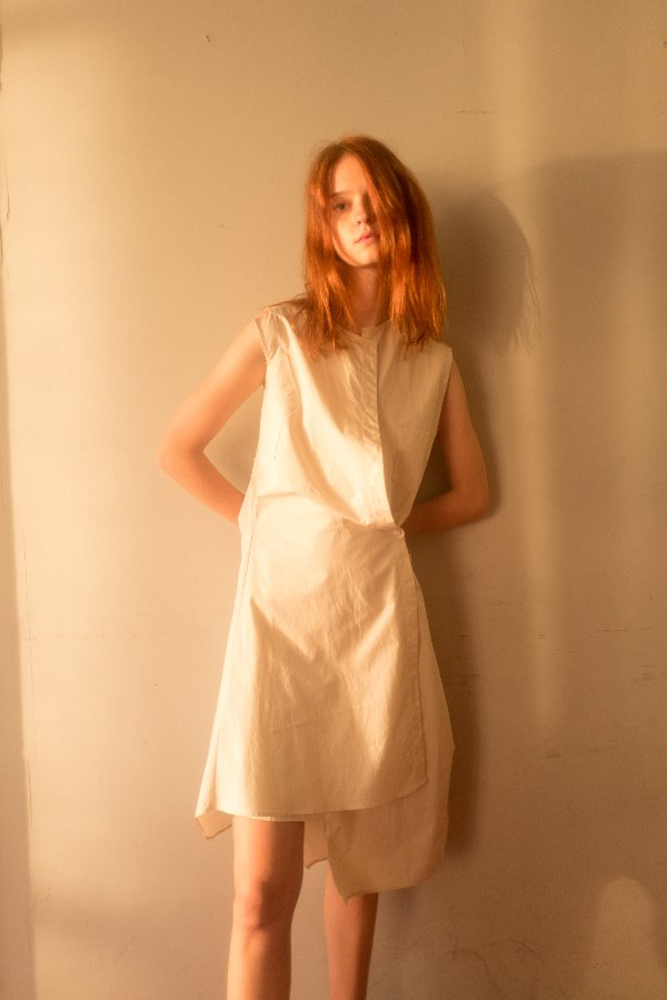 AVANT-GARDE SHIRT DRESS EDITION-IVORY