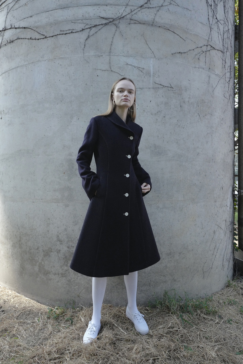 ALICE NAVY COAT